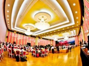 Hotel Yanggakdo - Pyongyang hotel North Korea - Complimentary Breakfast Buffet