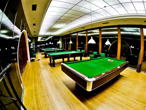 Hotel Yanggakdo - Pyongyang hotel North Korea - Billiards