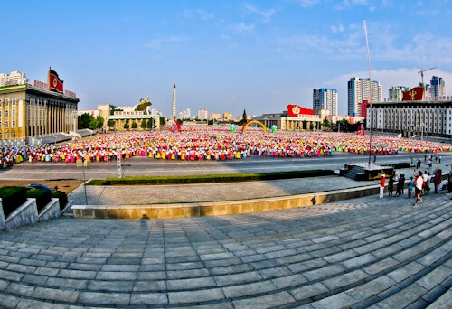 Stadiums of Pyongyang North Korea - Kim Il Sung Square