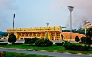 Stadiums of Pyongyang North Korea - Sosan Football Stadium