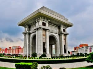 Pyongyang, North Korea - Things to do in the capital - Arch of Triumph