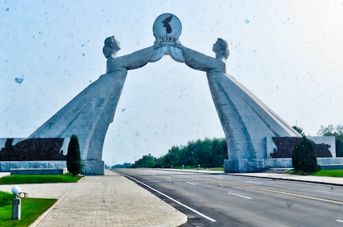 Pyongyang, North Korea - Things to do in the capital - Arch of Reunification