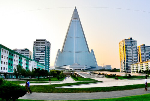 Pyongyang, North Korea - Things to do in the capital - Ryugyong Hotel