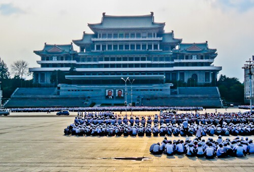 Pyongyang, North Korea - Things to do in the capital - Kim Il Sung Square