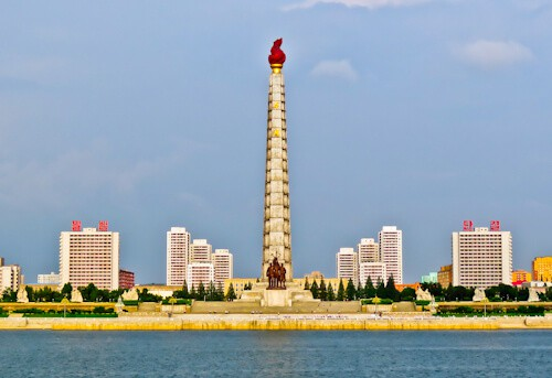 Pyongyang, North Korea - Things to do in the capital - Juche Tower