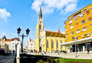 Novi Sad Serbia - What to see and do in the second largest Serbian city - The Name of Mary Church