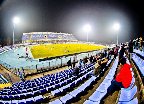 Things to do in Osijek - Watch an NK Osijek football match