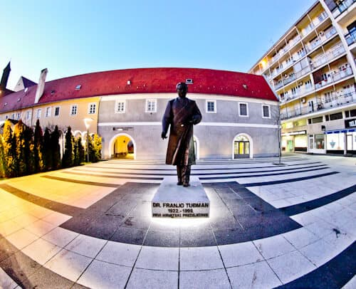 Things to do in Osijek - Franjo Tudman Statue