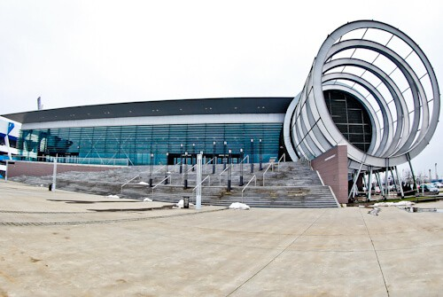 NK Osijek - Matchday Experience - Stadion Gradski vrt / Stadium - Gradski vrt Hall