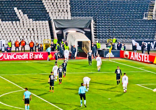 Partizan Belgrade Stadium - Matchday Experience - Players Tunnel