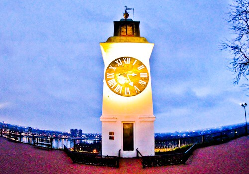Petrovaradin Fortress and Underground Tunnels, Novi Sad, Serbia - Clock Tower
