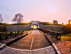 Petrovaradin Fortress and Underground Tunnels, Novi Sad, Serbia - Fortress Walls