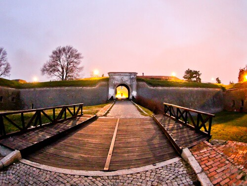 Petrovaradin Fortress and Underground Tunnels, Novi Sad, Serbia - Fortress Walls