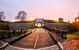 Petrovaradin Fortress and Underground Tunnels, Novi Sad, Serbia