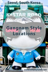 Gangnam Style - Filming Locations in Seoul, South Korea.
