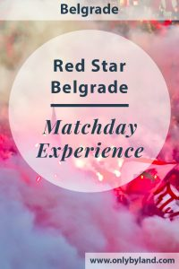 Red Star Belgrade - A stadium and museum tour of the Rajko Mitic stadium. Afterward, I experience a matchday experience.