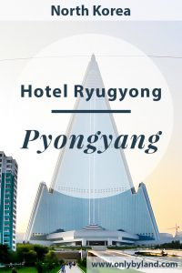 Hotel Ryugyong - Pyongyang North Korea. A few facts and pictures of the tallest building in North Korea.