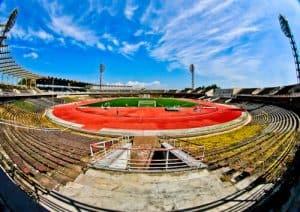 Plovdiv Abandoned Stadium Tour, Bulgaria - Stadium