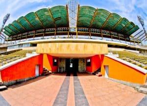 Plovdiv Abandoned Stadium Tour, Bulgaria - Players Tunnel