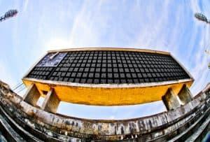 Plovdiv Abandoned Stadium Tour, Bulgaria - Historic Scoreboard