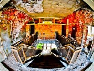 Plovdiv Abandoned Stadium Tour, Bulgaria - Interior