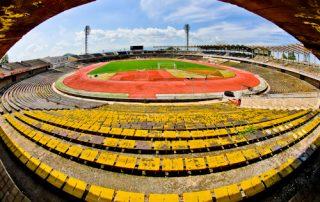 Plovdiv Abandoned Stadium Tour, Bulgaria