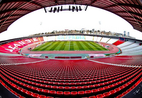 Red Star Belgrade - Matchday experience, stadium tour and museum tour - Rajko Mitic Stadium