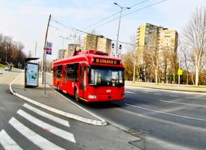 How to get from Belgrade old town to Partizan Stadium