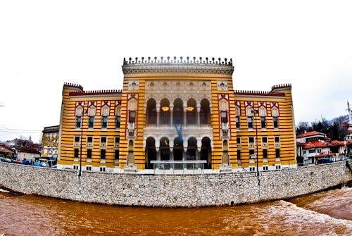 Sarajevo - What to see in Sarajevo, Bosnia and Herzegovina - Vijecnica