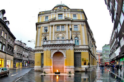 Sarajevo - What to see in Sarajevo, Bosnia and Herzegovina - Eternal Flame
