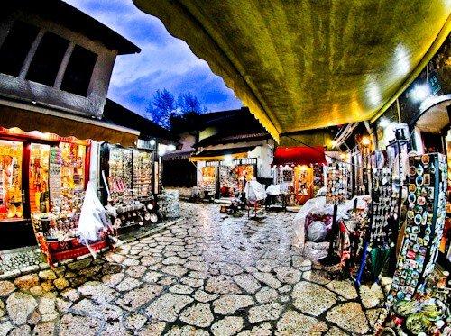Sarajevo - What to see in Sarajevo, Bosnia and Herzegovina - Old Town Bazaar, Bascarsija