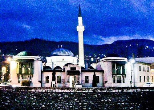 Sarajevo - What to see in Sarajevo, Bosnia and Herzegovina - Emperor's Mosque