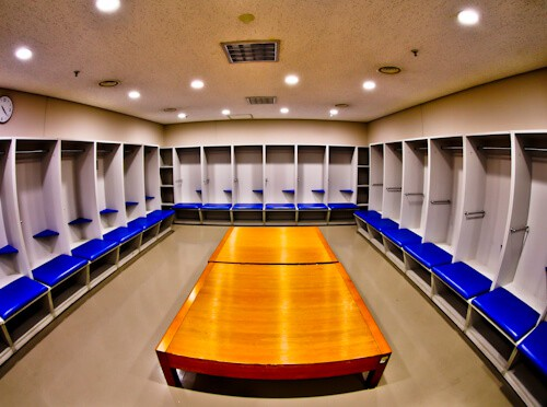 Seoul World Cup Stadium Tour - South Korea - Away Team Dressing Room