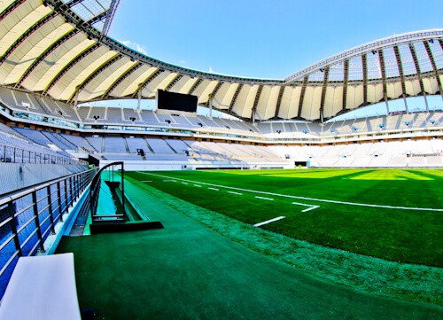 Seoul World Cup Stadium Tour - South Korea - Pitch Side