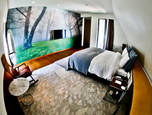 Snow Hotel - Instagram Worthy Seoul Hotels - Forest Suite