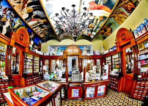Day trip to Sremski Karlovci from Novi Sad - Old Pharmacy with frescoes