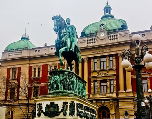 Things to do in Belgrade, Serbia - Republic Square - National Museum of Serbia