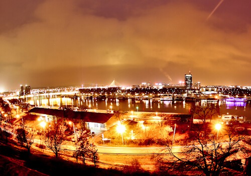 Things to do in Belgrade - panoramic over the river Sava