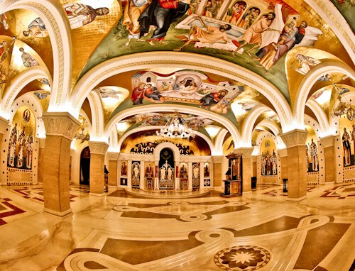 Things to do in Belgrade, Serbia - Church of Saint Sava interior