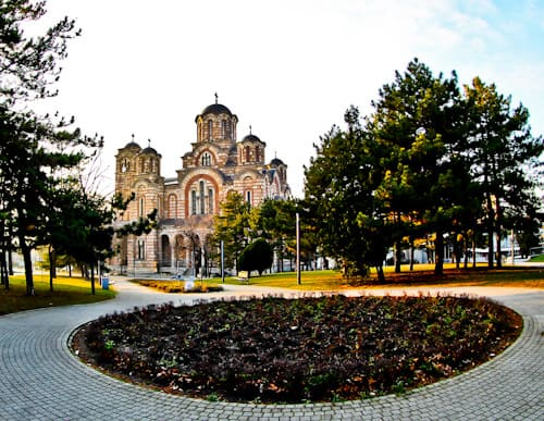 Things to do in Belgrade, Serbia - St. Mark's Church, Tasmajdan Park