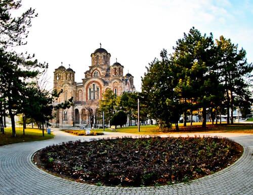 Things to do in Belgrade, Serbia - St. Mark's Church, Tasmajdan Park