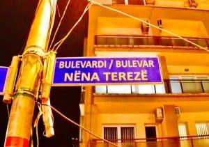 Things to do in Pristina Kosovo - Mother Teresa Street