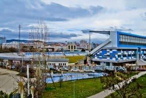 Things to do in Pristina Kosovo - Fadil Vokrri Stadium