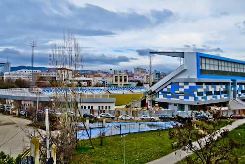 Things to do in Pristina Kosovo - Fadil Vokrri Stadium