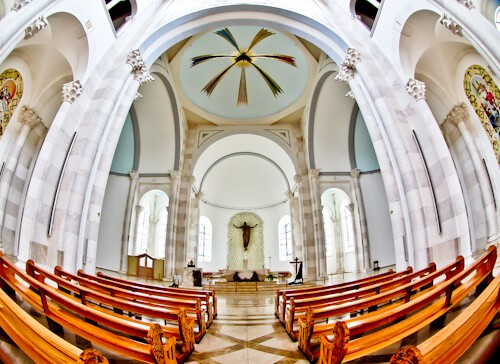 Things to do in Pristina Kosovo - Cathedral of Saint Mother Teresa inside