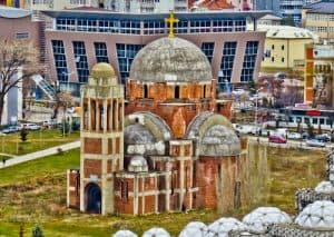 Things to do in Pristina Kosovo - Abandoned Cathedral church of Christ the Saviour