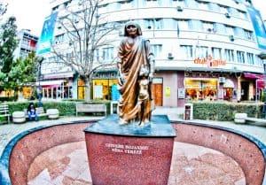 Things to do in Pristina Kosovo - Mother Teresa Statue