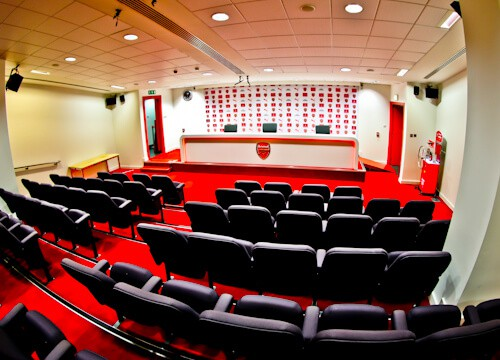 Arsenal Stadium Tour - What is it like to tour Emirates Stadium and Arsenal museum? Press Room