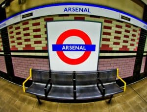 Arsenal Stadium Tour - What is it like to tour Emirates Stadium and Arsenal museum? - Arsenal Underground Station - How to get to the Emirates Stadium from central London