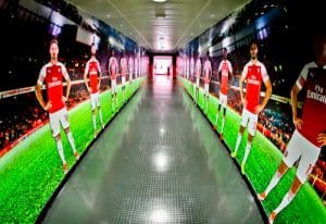 Arsenal Stadium Tour - What is it like to tour Emirates Stadium and Arsenal museum? Players Tunnel